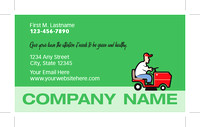 Business Card - Lawn Mowing - 02